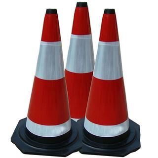 錐形事故標志柱